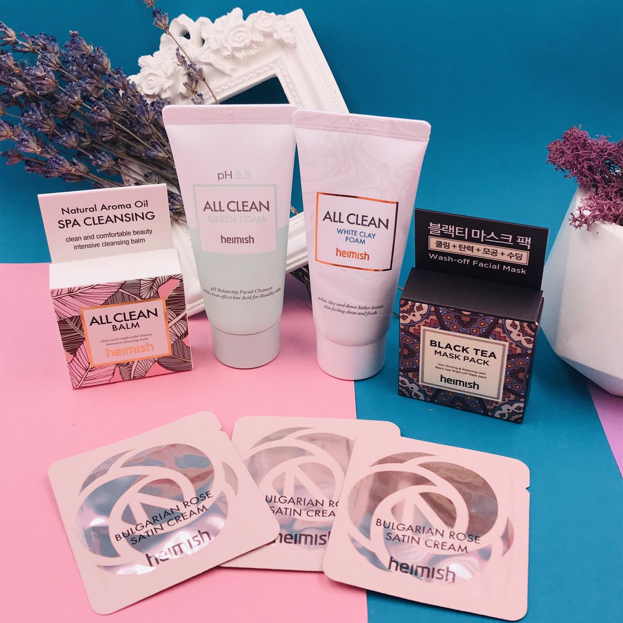 Набор очищающих и уходовых средств Heimish Mini Kit (5 Items)