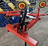 Грабли солнышко на минитрактор 4 колеса (колесо Ø1200мм, спица Ø6мм), фото 9