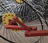 Грабли солнышко на минитрактор 4 колеса (колесо Ø1200мм, спица Ø6мм), фото 7