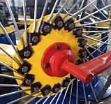 Грабли солнышко на минитрактор 4 колеса (колесо Ø1200мм, спица Ø6мм), фото 8