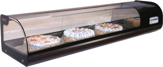 Барная холодильная витрина Carboma ВХСв-1,0 - ООО «Компания МАВИКО» в Харькове