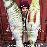 Рыба подушка мягкая игрушка декоративная сувенир 100 см, фото 1