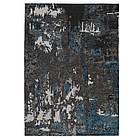 Ковер современный ALMINA 108503 1,6Х2,3 Серый прямоугольник, фото 5
