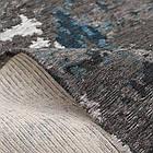 Ковер современный ALMINA 108503 1,6Х2,3 Серый прямоугольник, фото 2
