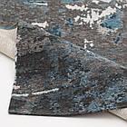 Ковер современный ALMINA 108503 1,6Х2,3 Серый прямоугольник, фото 3