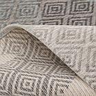 Ковер современный ALMINA 118514 1,6Х2,3 Серый прямоугольник, фото 2