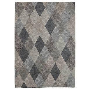 Ковер современный ALMINA 118514 1,6Х2,3 Серый прямоугольник