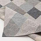 Ковер современный ALMINA 118514 1,6Х2,3 Серый прямоугольник, фото 3