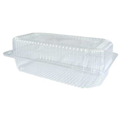 Одноразовый контейнер ПС-120 c крышкой для пищевых продуктов - 230х130х78 мм, 1550 мл, 20 шт.