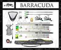 Набор №138 набір від Barracuda! Кращий за свою ціну! Фідера з котушками в чохлі!