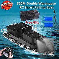 Кораблик для рыбалки быстроходный 2 аккумулятора + подарок
