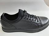 Универсальные Женские кожаные кеды Большие размеры спортивные туфли без шнурков на резинках Mante PRO!, фото 6