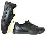 Универсальные Женские кожаные кеды Большие размеры спортивные туфли без шнурков на резинках Mante PRO!, фото 3