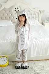 Пижама Кигуруми детская Kigurumba Тоторо XS - рост 95 - 105 см Серый, КОД: 1776908