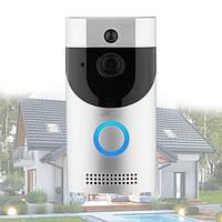 Домофон Anytek Smart Doorbell B30 1080p с Wi-Fi и датчиком движения Серый