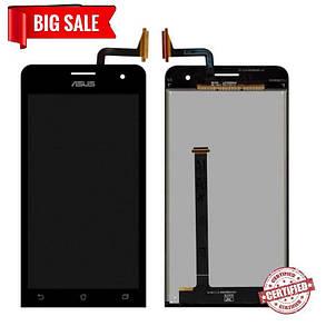 Модуль (сенсор+дисплей) для Asus ZenFone 5 A500CG, A500KL, A501CG чорний, фото 2