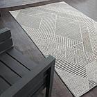 Коврик современный LINQ 8208A 1,5Х2,3 Светло-серый прямоугольник, фото 7