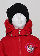 Детская шапка Asos для девочки OneSize Черная 8170344, КОД: 1452727