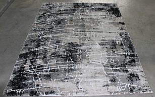 Ковер современный OPERA W8497 2,4Х3,4 Светло-серый прямоугольник