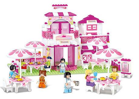Конструктор Sluban M38-B0150 «Розовое кафе» 306 деталей, фото 2