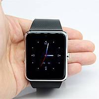 Мужские черные Умные Смарт Часы Smart Watch GT-08