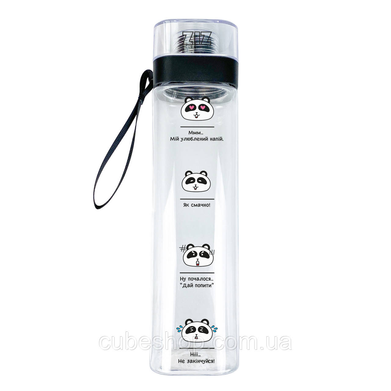 """Бутылка для воды ZIZ """"Панды"""" (700 мл)"""