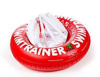 Круг для обучения плаванию SWIMTRAINER красный ребенку 3 месяца - 4 года