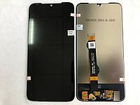 Оригинальный дисплей (модуль) + тачскрин (сенсор) для Motorola Moto G8 Plus XT2019 (черный цвет)
