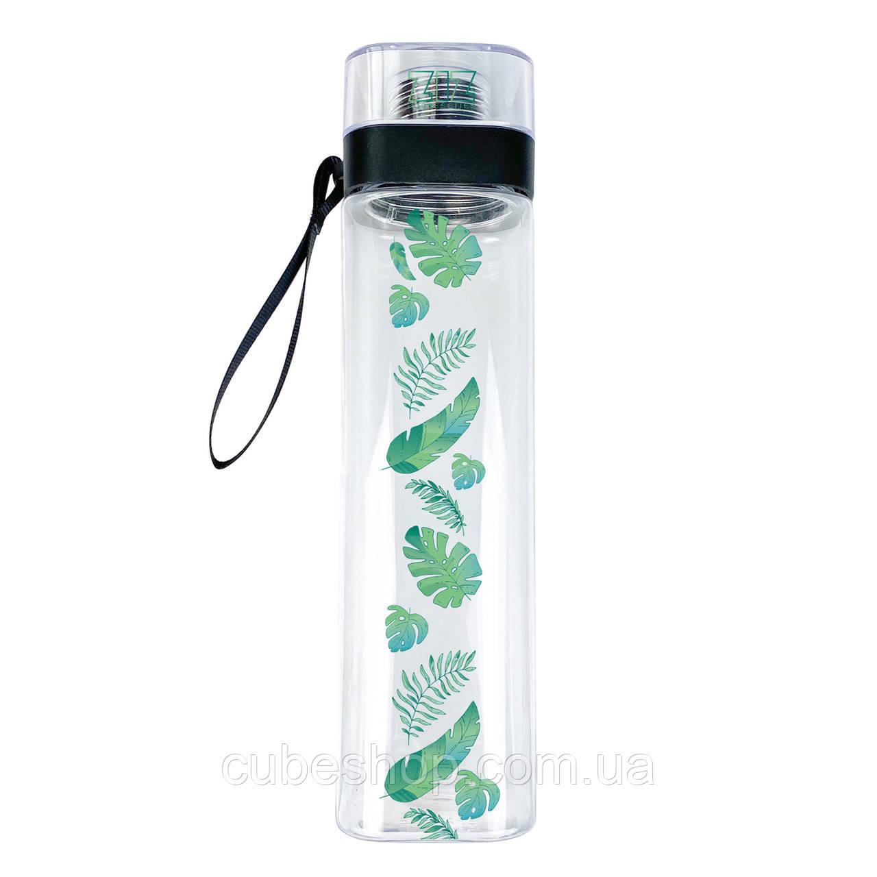 """Бутылка для воды ZIZ """"Пальмовые листья"""" (700 мл)"""