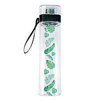 """Бутылка для воды ZIZ """"Пальмовые листья"""" (700 мл), фото 1"""