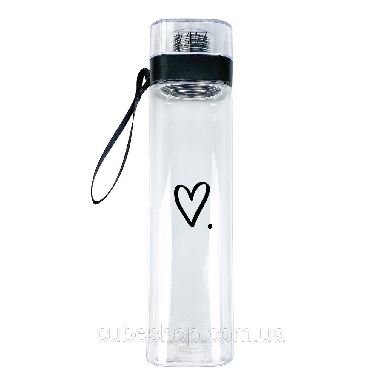 "Бутылка для воды ZIZ ""Сердце"" (700 мл)"