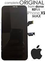 Дисплейный модуль для iPhone XS MAX Original (LCD экран, тачскрин, стекло в сборе)