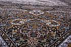 Коврик восточная классика Tabriz 33 1,5Х2,25 Бирюзовый прямоугольник, фото 9