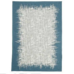 Ковер современный VISTA 131305 1,6Х2,3 Голубой прямоугольник