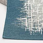 Ковер современный VISTA 131305 1,6Х2,3 Голубой прямоугольник, фото 6