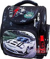 Рюкзак  школьный для мальчиков DELUNE 3-175 черно-белый