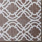 Ковер современный ZELA 116905 1,6Х2,3 Коричневый прямоугольник, фото 6