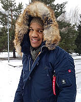 Зимова куртка аляска AIRBOSS Winter Parka 171000123221 (синя)
