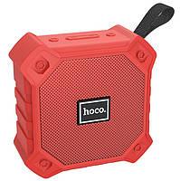 Портативная Bluetooth колонка HOCO sports BS34, красная