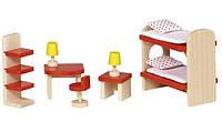 Набор для кукол Goki Мебель для детской комнаты (51719G)