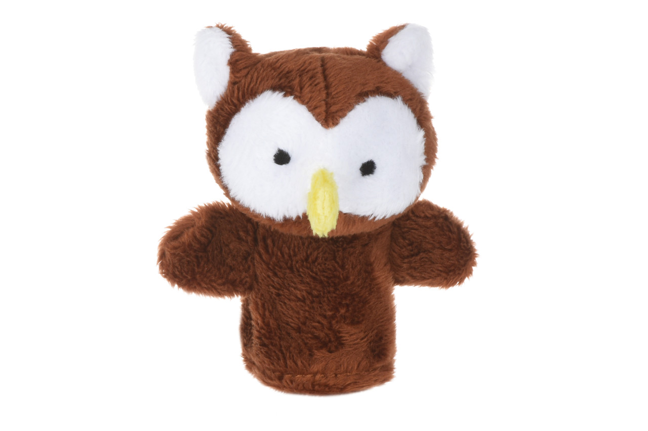 Іграшка Goki для пальчикового театру Сова (50962G-1)