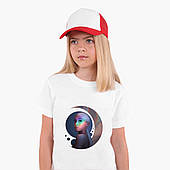 Белая футболка Ариана Гранде