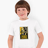 Футболка детская Пубг Пабг (Pubg) Белый (9224-1179)