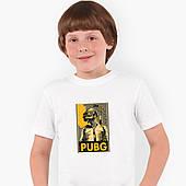 Футболка детская Пубг Пабг (Pubg) Белый (9224-1181)