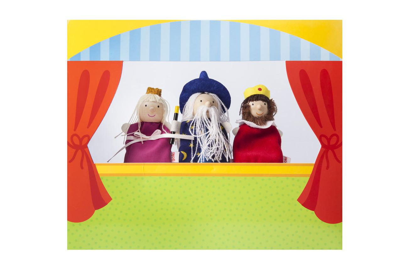 Набір ляльок Goki для пальчикового театру (51592G)