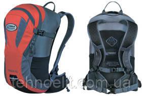 Рюкзак велосипедный спортивный Terra Incognita Racer 18 Красный/Серый