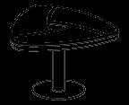 Журнальный столик Evolution МДФ 25\405 (802х781х505)
