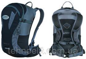 Рюкзак велосипедный спортивный Terra Incognita Racer 18 Черный/Серый