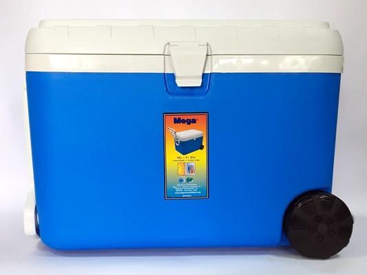Купить Термобокс 48 л синий, Mega, изотермический бокс, ізотермічний бокс, бокс ізотермічний