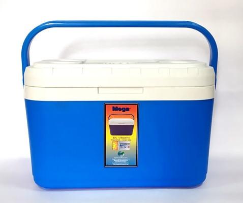 Купить Термобокс 22 л синий, Mega, изотермический бокс, ізотермічний бокс, бокс ізотермічний